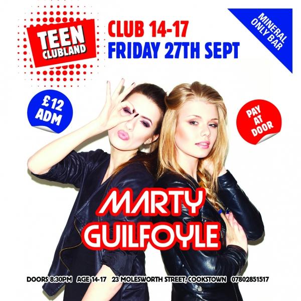 CLUB 14-17 WITH DJ MARTY GUILFOYLE