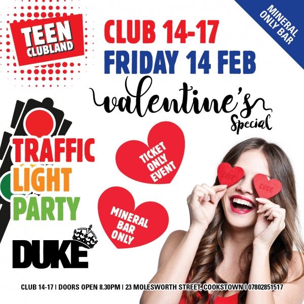 CLUB 14-17 VALENTINES SPECIAL
